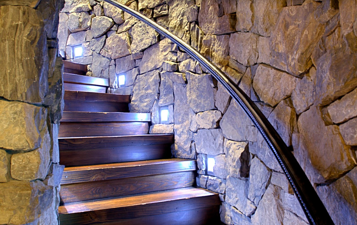 Staircase at the Cairns