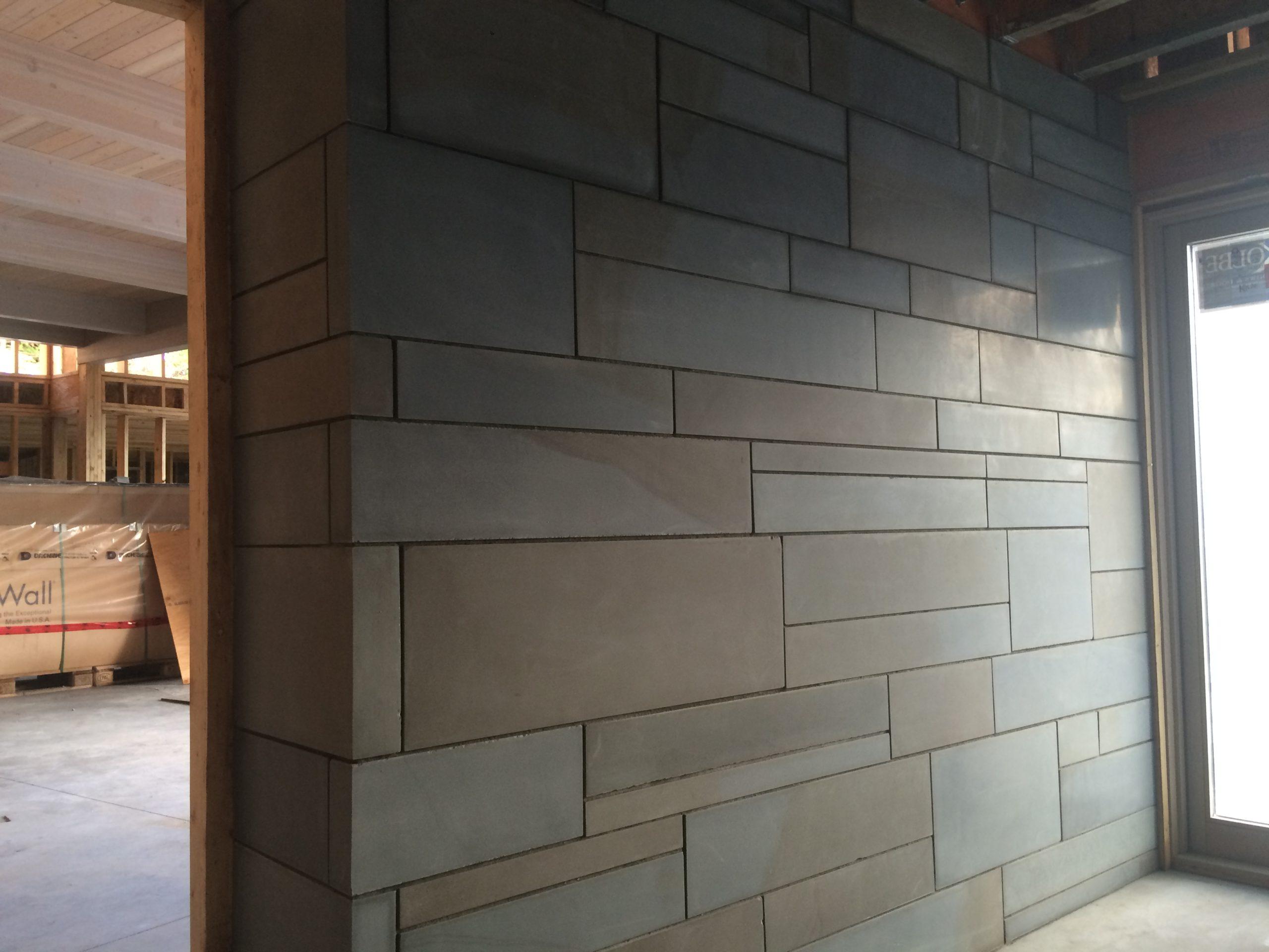 Sechelt Residence Interior Wall